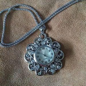 Jewelry - GingerSnap Pendant w/Watch